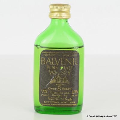 Balvenie 8 Year Old Mini 1 2/3 Fl Oz