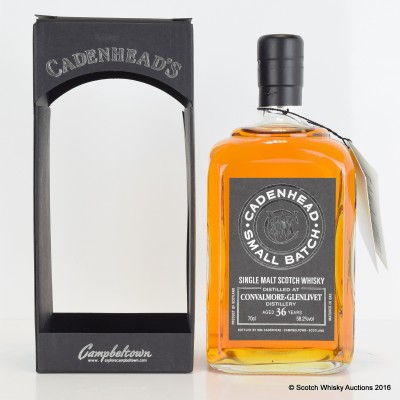 Cadenhead's Small Batch Convalmore-Glenlivet 1977 36 Year Old