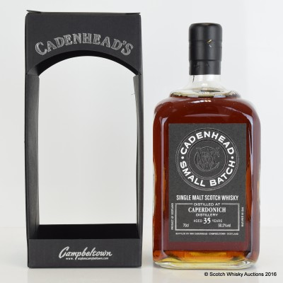 Cadenhead's Small Batch Caperdonich 35 Year Old