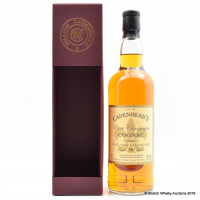 Cadenhead's Petite Champagne Cognac 30 Year Old