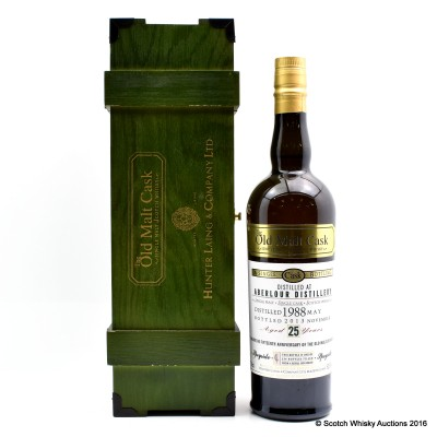 Aberlour 1988 25 Year Old 15th Anniversary OMC