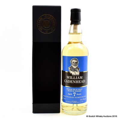 Cadenhead's William Cadenhead Islay 7 Year Old