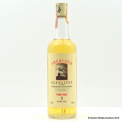 Aberlour Glenlivet 5 Year Old Pure Malt 75cl