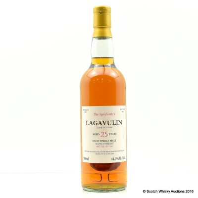 Lagavulin 1990 25 Year Old The Syndicate's Bottling