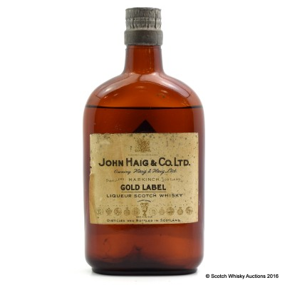 John Haig Gold Label