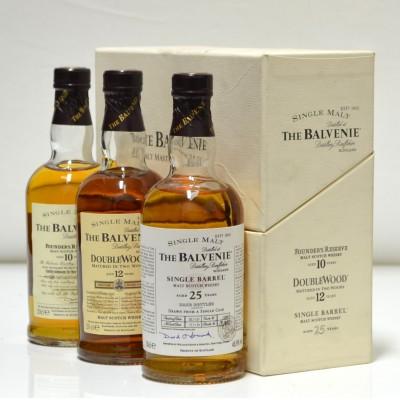 Balvenie Malt Master's Selection 3 x 20 cl