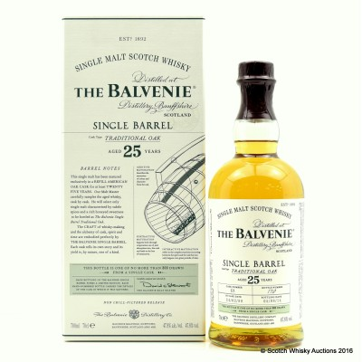 Balvenie Single Barrel 25 Year Old