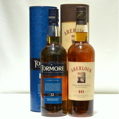 Aberlour 10 Year Old & Tormore 12 Year Old