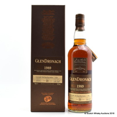 GlenDronach 1989 23 Year Old Single Cask #5470