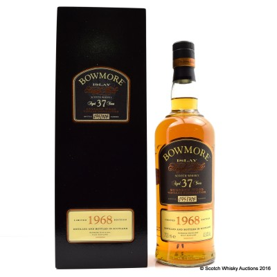 Bowmore 1968 37 Year Old