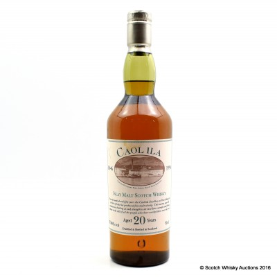Caol Ila 150th Anniversary 20 Year Old