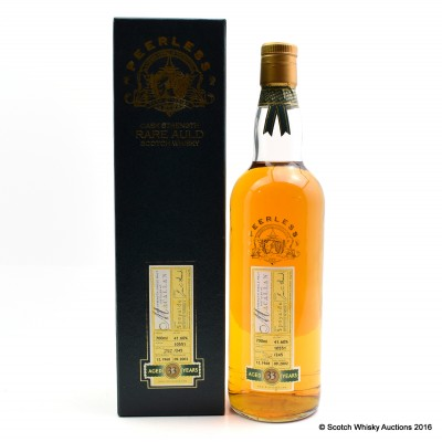Macallan 1968 33 Year Old Duncan Taylor