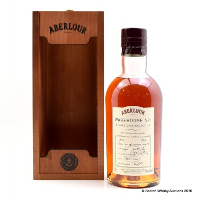 Aberlour Warehouse No 1 Single Sherry Cask Selection 1996 16 Year Old