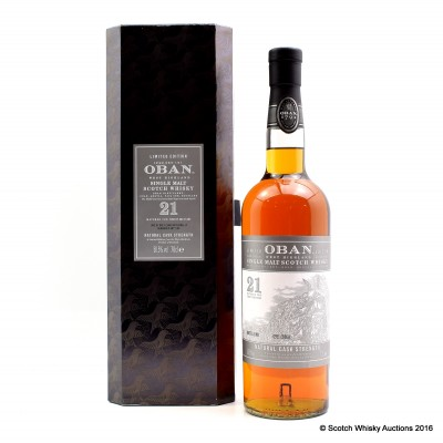 Oban 21 Year Old