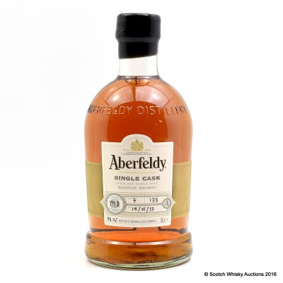 Aberfeldy 1998 Single Cask #135