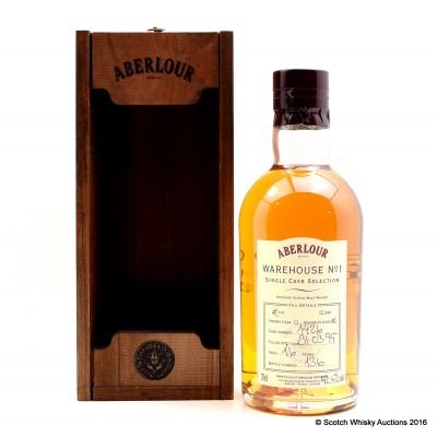 Aberlour Warehouse No 1 Single Bourbon Cask Selection 1995 16 Year Old