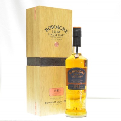Bowmore 1981 Vintage Release 28 Year Old