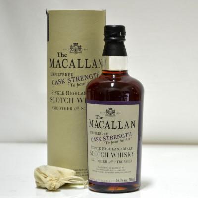 Macallan Unfiltered Cask Strength 50cl