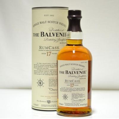 Balvenie 17 Year Old Rum Cask 1st Release