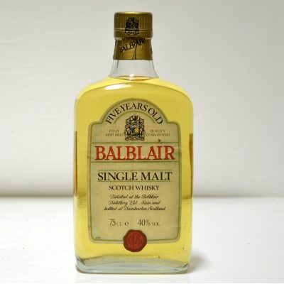 Balblair 5 Year Old Ballantine's Bottling