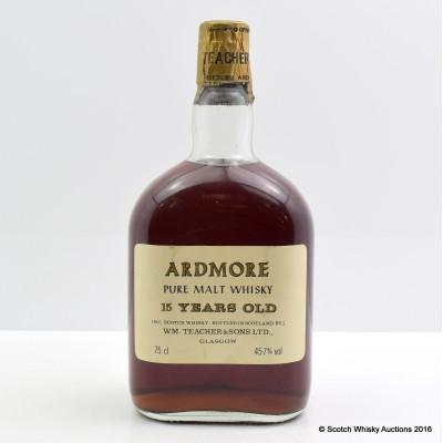 Ardmore 15 Year Old Dumpy Bottle 75cl