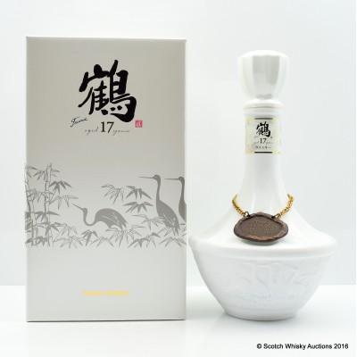 Nikka Tsuru Ceramic Decanter 17 Year Old