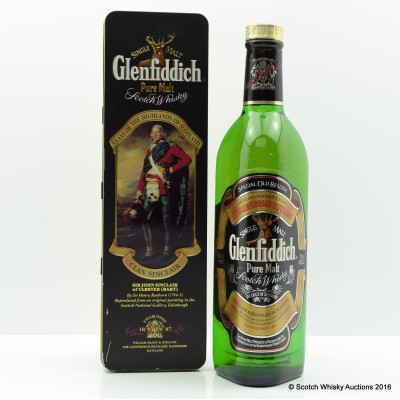 Glenfiddich Clans Of The Highlands Of Scotland Clan Sinclair 75cl
