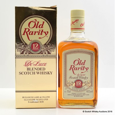 Old Rarity 12 Year Old 75cl