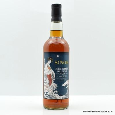 Caroni Sinob 1997 Full Proof Rum