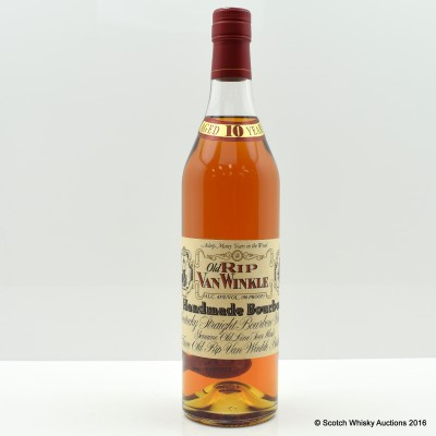 Old Rip Van Winkle Handmade Bourbon 10 Year Old