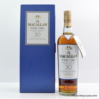 Macallan Fine Oak 30 Year Old