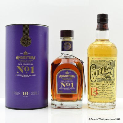 Angostura Cask Collection No. 1 & Craigellachie 13 Year Old