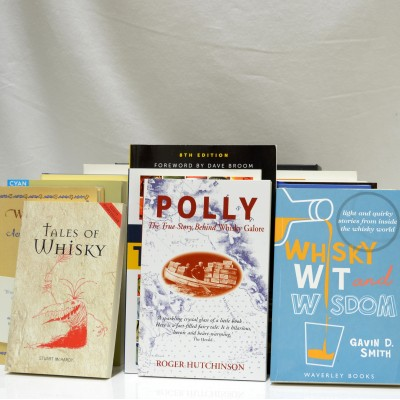 Assorted Whisky Books  x 15