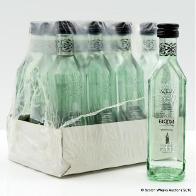 Bloom Gin Minis 12 x 5cl