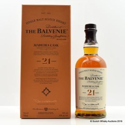 Balvenie Madeira Cask 21 Year Old