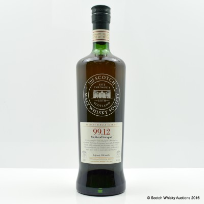 SMWS 99.12 Glenugie 30 Year old