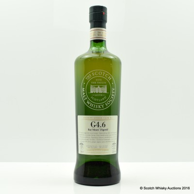 SMWS G4.6 Cameronbridge 1988 18 Year Old