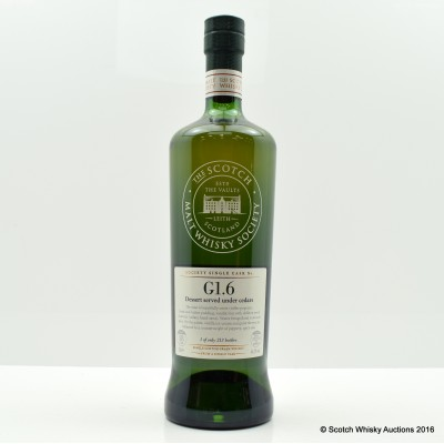 SMWS G1.6 North British 18 Year Old