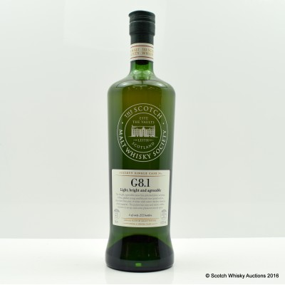 SMWS G8.1 Cambus 21 Year Old