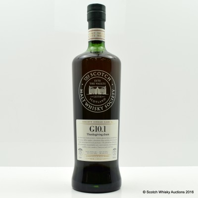 SMWS G10.1 Strathclyde 1989 23 Year Old