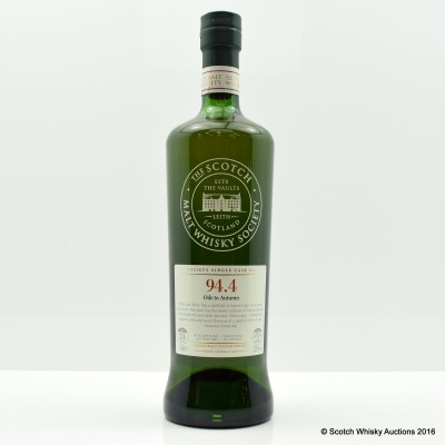 SMWS 94.4 Old Fettercairn 1989 24 Year Old