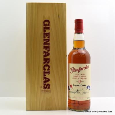 Glenfarclas 43 Year Old Cognac Cask