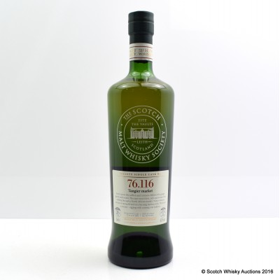 SMWS 76.116 Mortlach 1987 26 Year Old