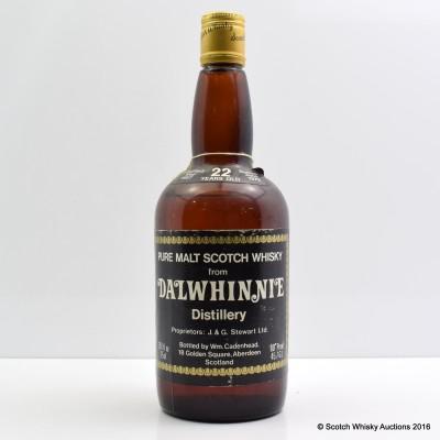 Cadenhead's Dalwhinnie 1957 22 Year Old 26 2/3 Fl Oz