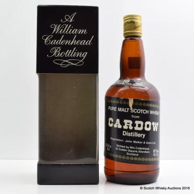 Cadenhead's Cardhu 1962 16 Year Old 26 2/3 Fl Oz