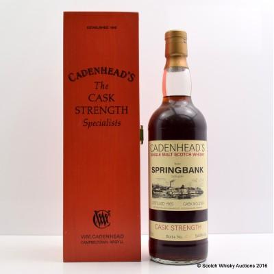 Cadenhead's Springbank 1965