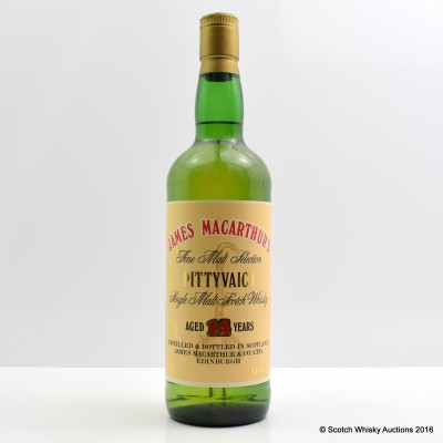 Pittyvaich 14 Year Old James MacArthur's 75cl