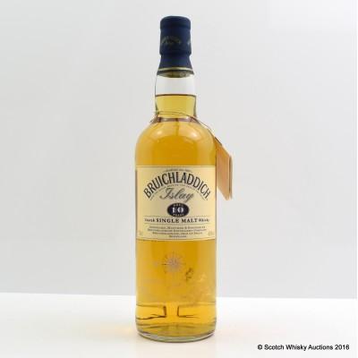 Bruichladdich 10 Year Old Tall Bottle
