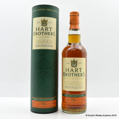 Mortlach 1990 23 Year Old Hart Brothers