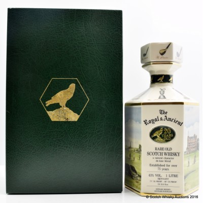 The Royal & Ancient 20 Year Old Golfing Decanter 1L